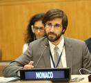 Florian Botto 2 - Mr Florian Botto, Third Secretary at Monaco's Permanent Representation to the United Nations © DR